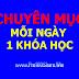 Chuyên mục: Mỗi ngày chia sẻ 1 khóa học cơ khí tiếng Việt