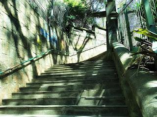 Escadaria do Ricaldone: comunica as Ruas Santo Inácio e Marquês do Pombal, em Porto Alegre
