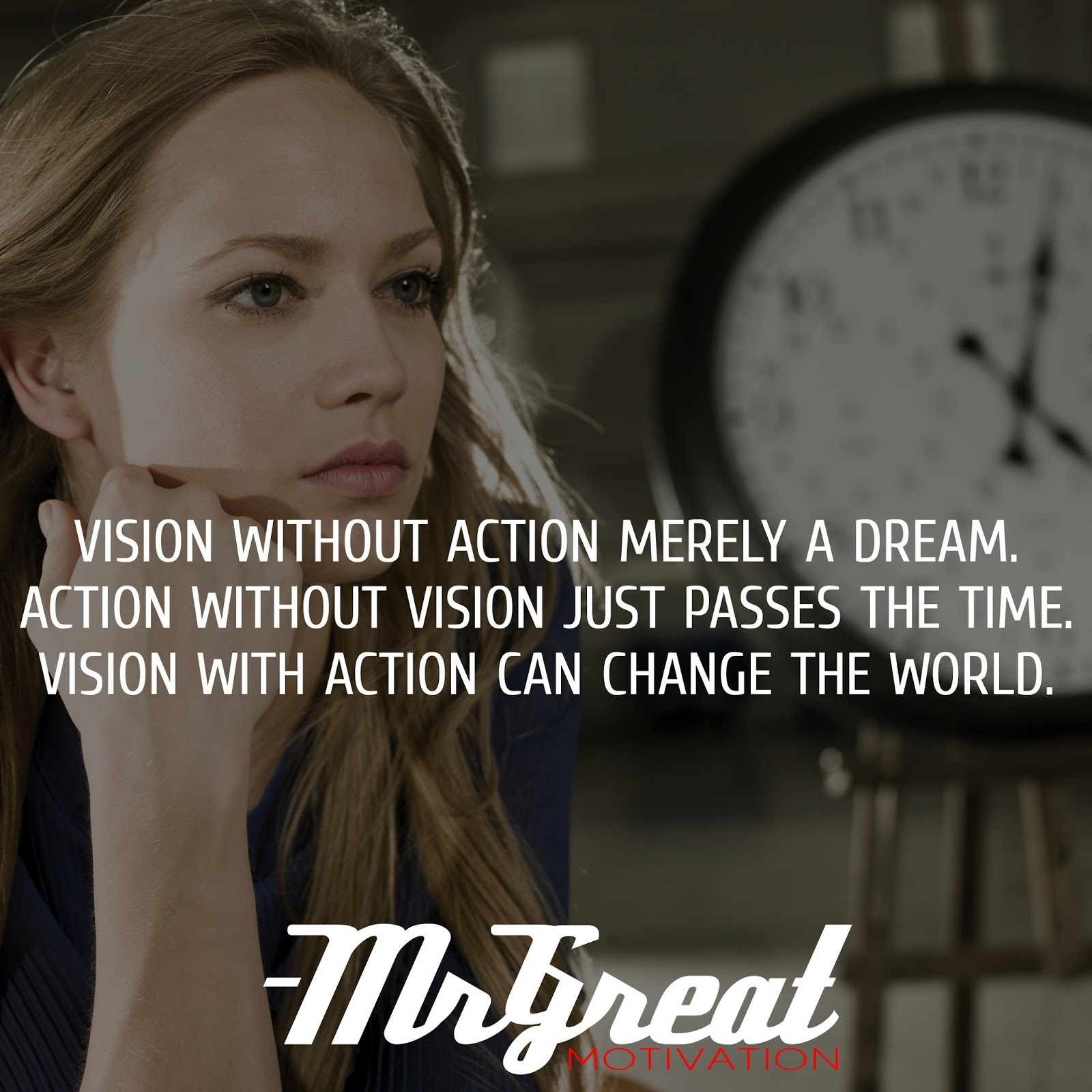 Vision without action is merely a dream. Action without vision just passes the time. Vision with action can change the world. - Joel Barker