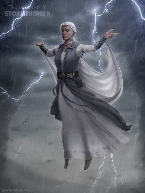 Tempestade, por Nate Hallinan