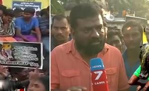 Actor Aruldoss speaks about Jallikattu protest at Alanganallur