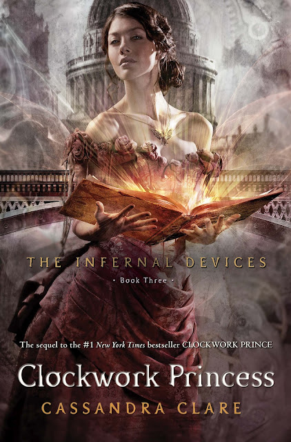 News: Capa de Clockwork Princess, da autora Cassandra Clare. 8