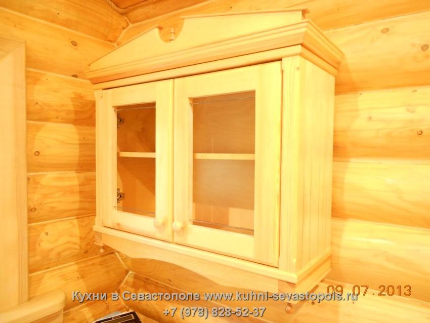 Деревянный буфет на заказ Севастополь