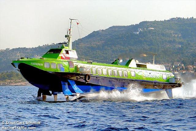Μηχανική βλάβη σε Flying Dolphin στον Αργοσαρωνικό