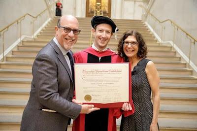 Mark Zukerberg with parents