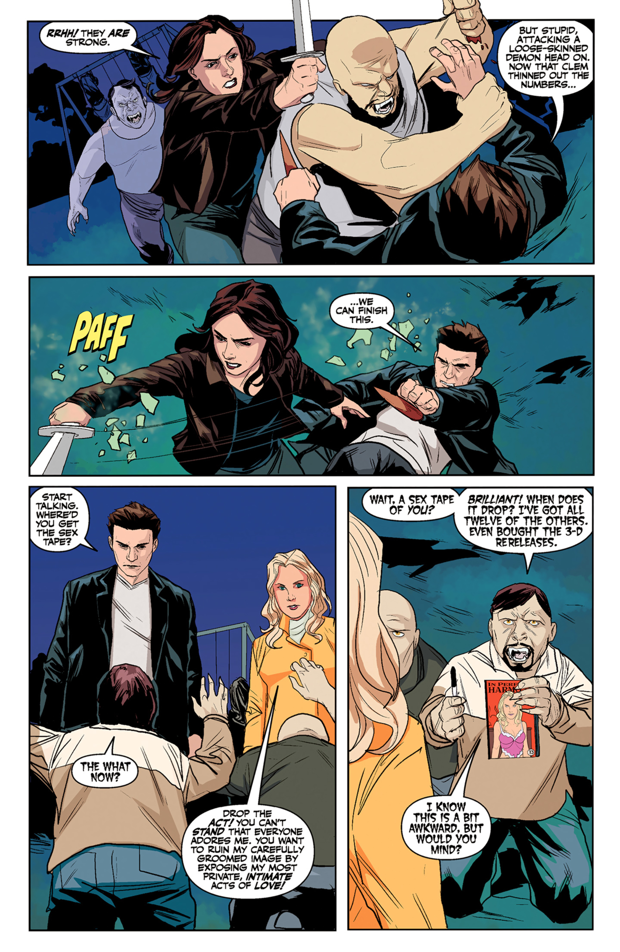 Read online Angel and Faith comic -  Issue #5 - 13