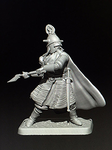 MZ628 Dain Ironfoot miniature preview by Mithril Miniatures