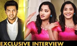 Enga Veetu Mappilai Fame Actress Abarnathy Interview