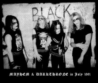 Mayhem and Darkthrone