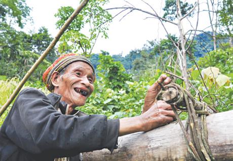 20 năm sống cô độc ở rừng sâu