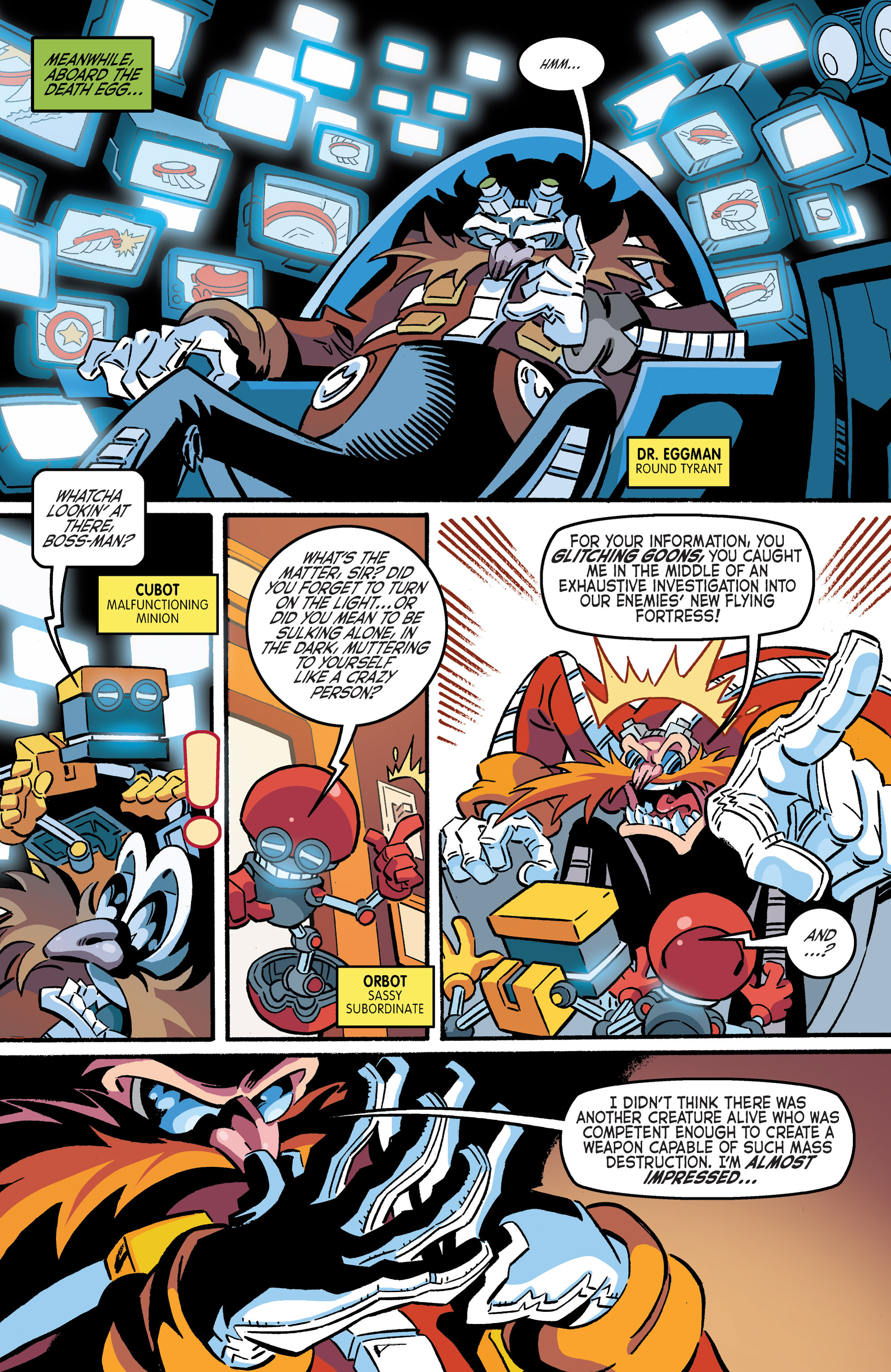 Read online Sonic The Hedgehog comic -  Issue #265 - 19