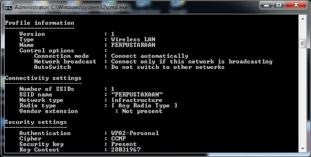 cara mengetahui password Wi-Fi