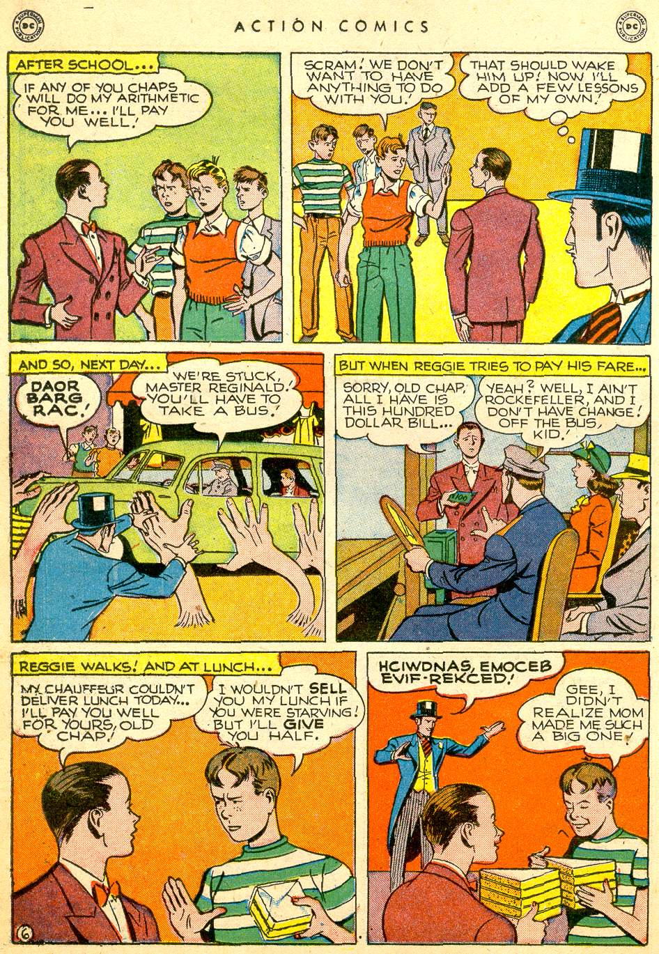 Read online Action Comics (1938) comic -  Issue #126 - 32