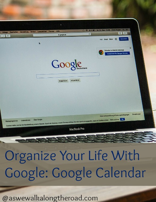 An overview of using Google calendar for organization