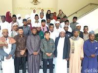 Subhanallah, Temui Wapres JK, 30 Kepala Suku Papua Pamit Berangkat Haji