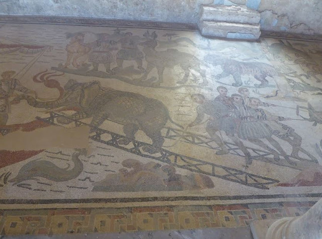 mosaico di villa del casale a piazza armerina