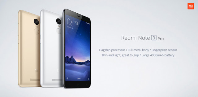 Smartphone Xiaomi Redmi Note 3 Pro is one of the new models of smartphone that simply suck up public attention today. The price is rated very seductive to the size of a smart phone with fingerprint scanner support (fingerprint scanner), metal body and 3 GB of RAM memory. The price only 174.99 USD at Gearbest.com.