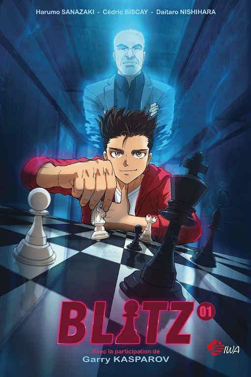 Découvrez le manga Blitz consacré aux échecs