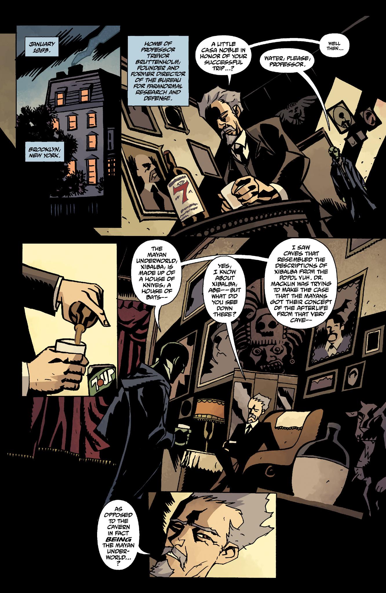 Read online Abe Sapien comic -  Issue #8 - 3