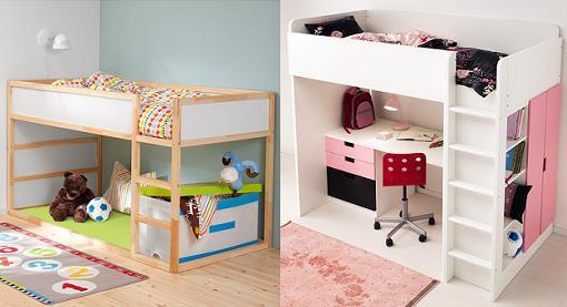 Dormitorios juveniles de moda 2016 for Ikea camas juveniles