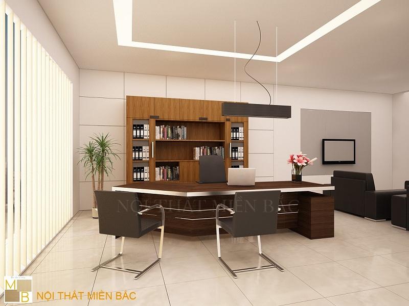 Thiết kế nội thất phòng giám đốc cao cấp đảm bảo công năng sử dụng