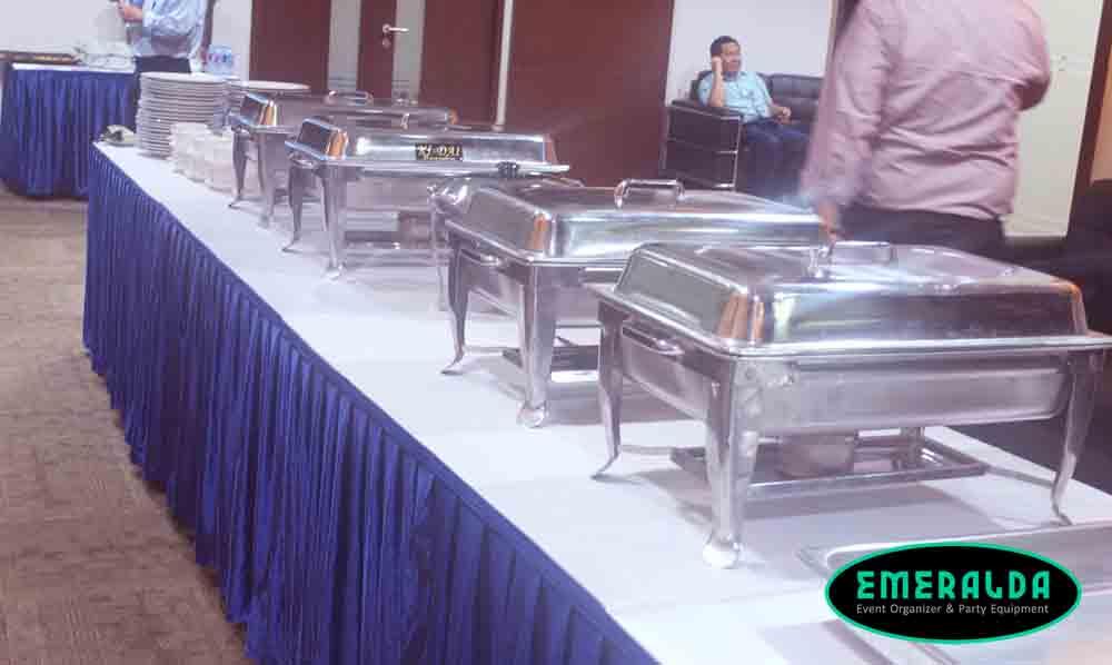 alat catering pemanas makanan standar
