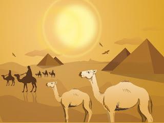 تصميم معبر عن مصر