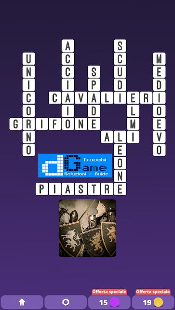 Soluzioni One Clue Crossword livello 20 schemi intermedia (Cruciverba illustrato)  | Parole e foto