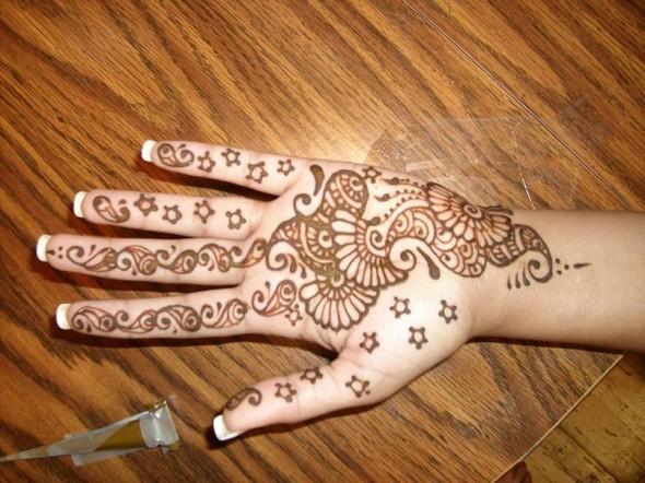 Mehndi For Beginners: Mehndi Designs For Hands : Indian Mehndi Designs For Beginners