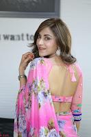Angela Krislinzki Rogue Movie Fame Telugu Actress in Saree Backless Choli 083.JPG