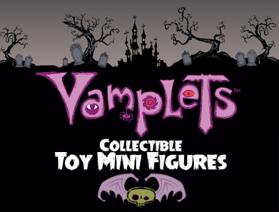 Vamplets Baby Monster Mini Figure Collection Kickstarter Campaign