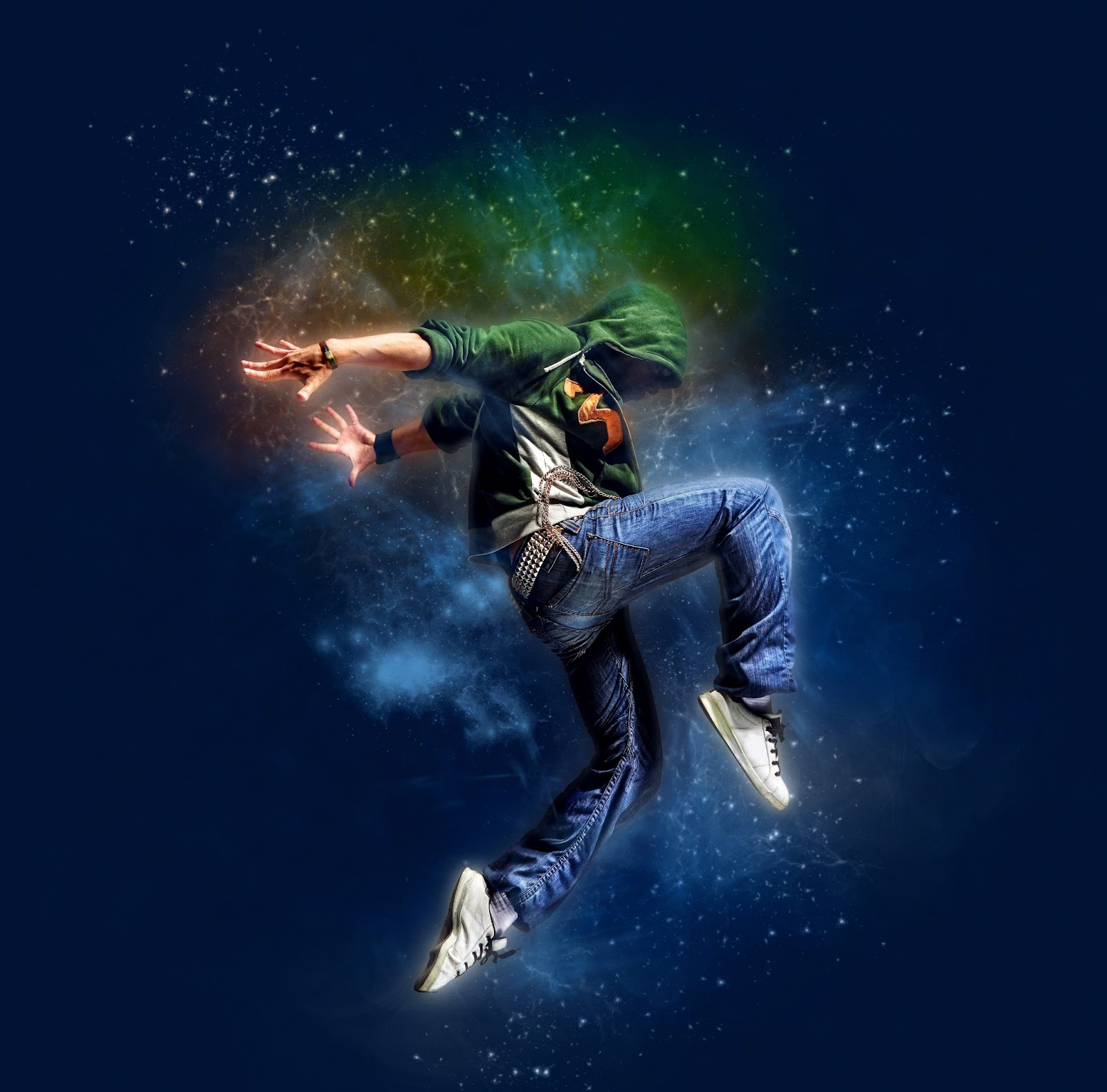 Creative Space Photo Effect In Photoshop CS6 Extended ...