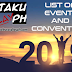 List of 2019 Otaku and Cosplay Events Philippines