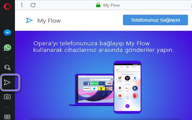 My Flow özelliğiyle telefonunuz ve bilgisayarınız arasında bağlantı kurun