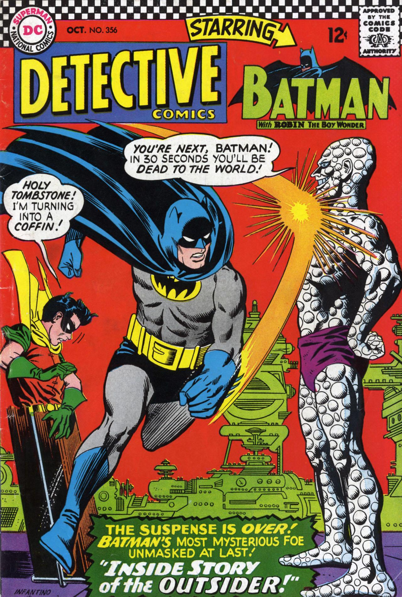 Detective Comics (1937) 356 Page 0