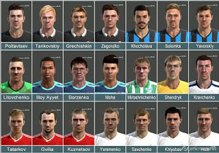 FACEPACK UPL PLAYERS 2015 BY NIKADIM PES 2013