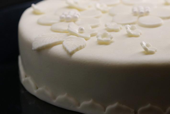 Haselnuss-Quitten-Torte