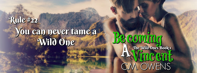 [Blog Tour] Becoming a Vincent by CM Owens @CMOwensAuthor @BookSmacked #ChapterOne #UBReview
