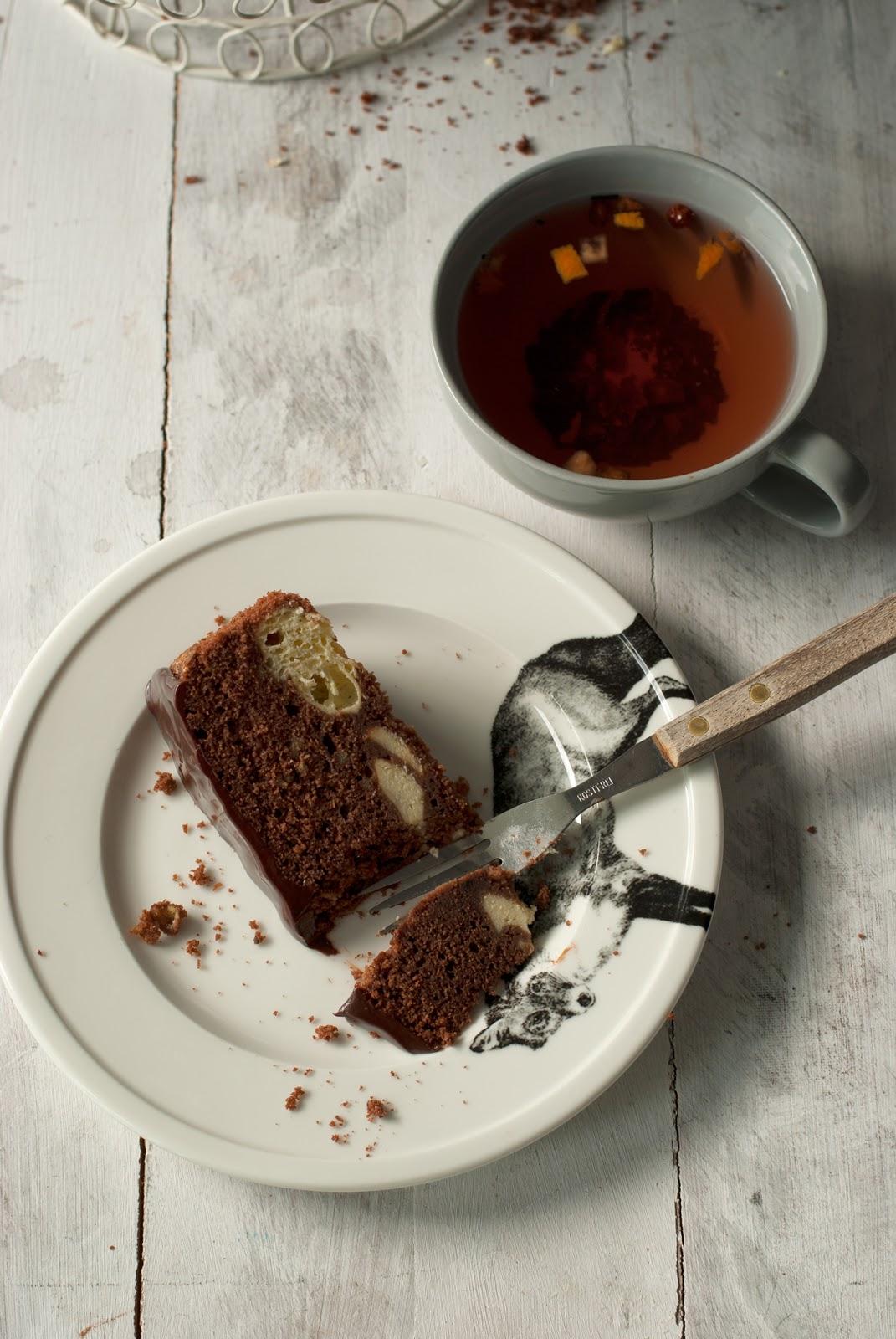 Bezglutenowe ciasto czekoladowe z serem