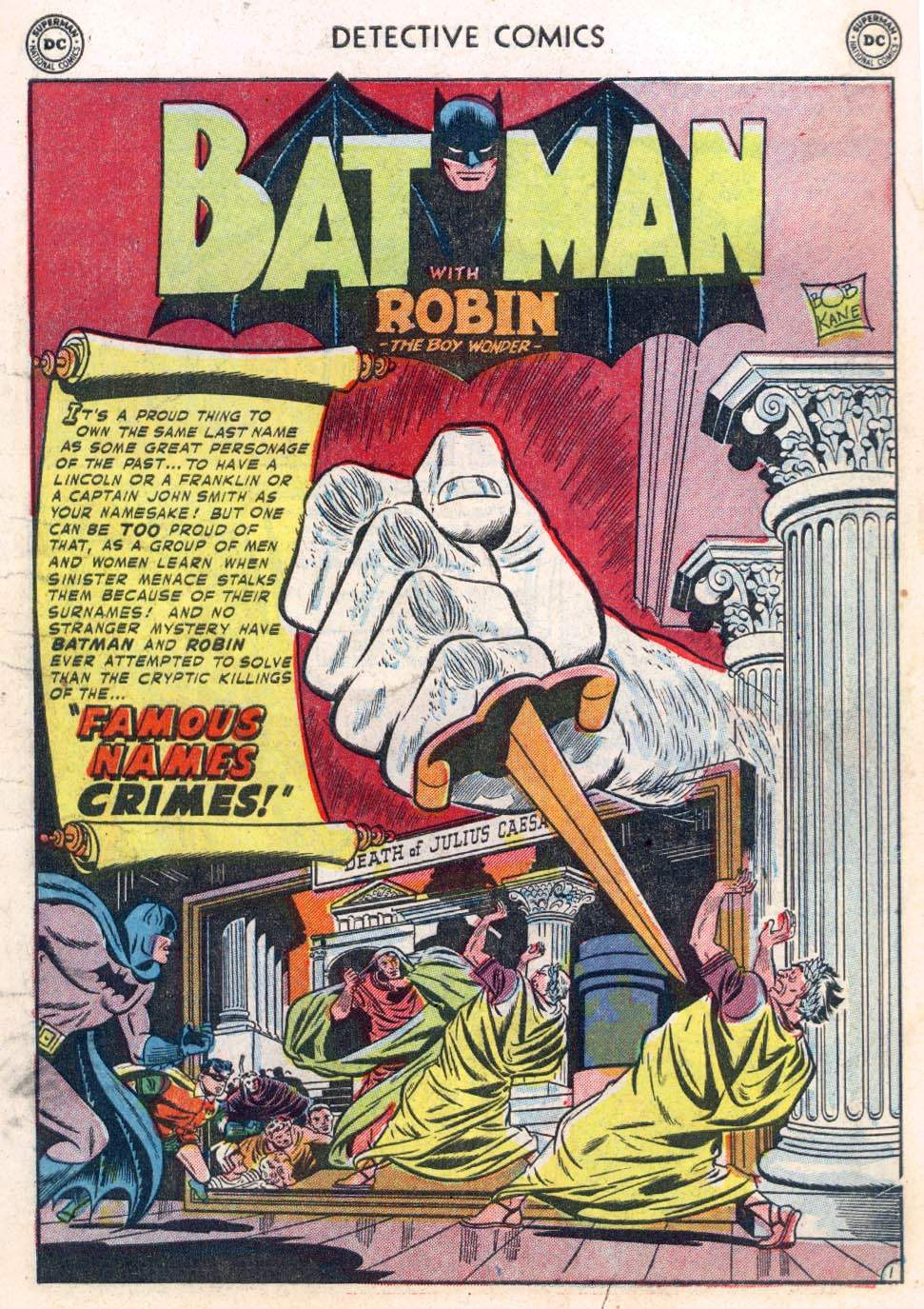 Read online Detective Comics (1937) comic -  Issue #183 - 3