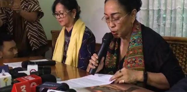 Dewan Pakar ICMI: Permintaan Maaf Sukmawati Tidak Hapus Tanggung Jawab Hukumnya