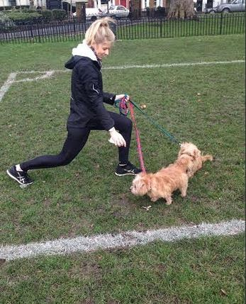 Aqui ela cria o plano de fitness perfeito duas semanas e fica mascotes Pets