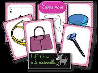 Images série rose Montessori - LaCatalane