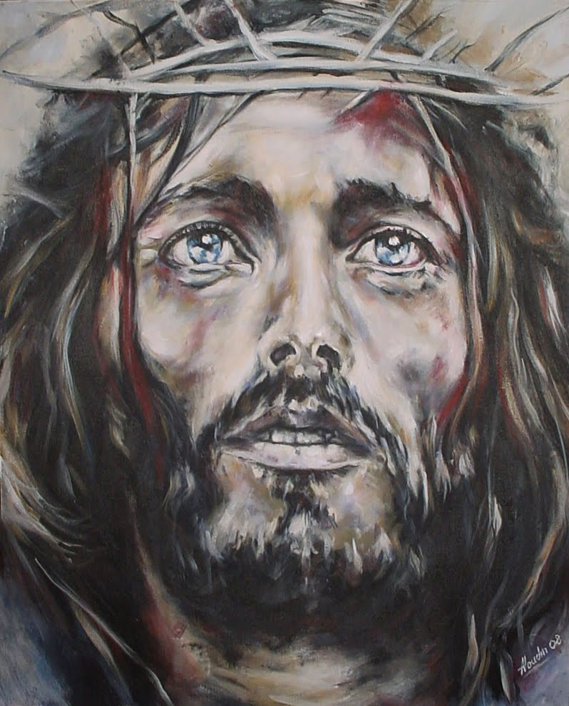 Anima: Jesus Christ Face Wallpaper, Face Picture