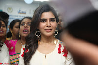 Samantha Ruth Prabhu Smiling Beauty in White Dress Launches VCare Clinic 15 June 2017 053.JPG