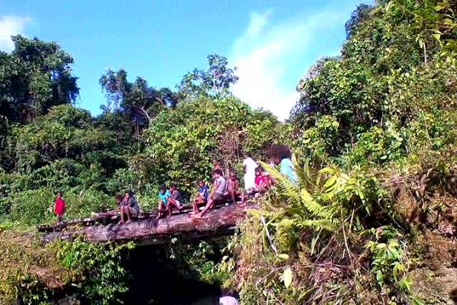 Wisata Kali Kembira di Kabupaten Sorong Selatan