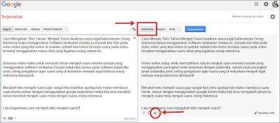 Merubah teks menjadi suara logat bahasanya orang indonesia