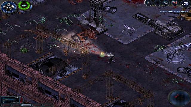 Alien Shooter 2 - Image du Jeu