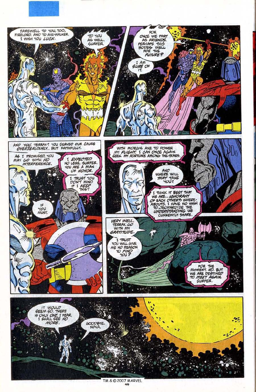 Read online Silver Surfer (1987) comic -  Issue #75 - 48