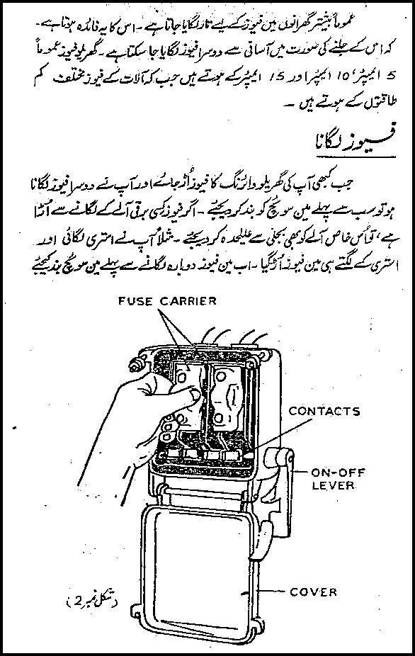 electrical wiring books in urdu